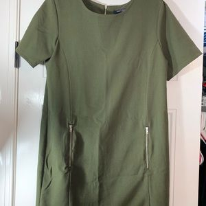 One Clothing olive green dress